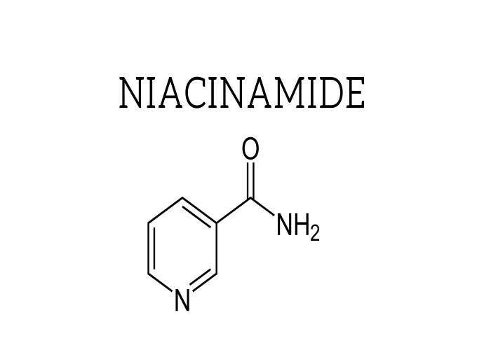 Niacinamide là một dẫn xuất của Vitamin B3-loại vitamin quan trọng trong các vấn đề về mụn viêm, phục hồi da lão hóa, sạm màu và mất nước. Chất này được xem như một thành phần cực kì đa năng. Không chỉ có tác dụng tăng hệ miễn dịch cho da, giải quyết các vấn đề về lỗ chân lông. Mà còn có tác dụng điều trị mụn trứng cá, điều tiết bã nhờn và chống oxy hóa da. Niacinamide được phát hiện từ năm 1935 đến 1937. Đồng thời có mặt trong danh mục thuốc thiết yếu của Tổ chức Y tế thế giới. Đây là thành phần hiếm hoi vì đem lại nhiều lợi ích, giải quyết nhiều vấn đề trên da lại đảm bảo an toàn không hề gây kích ứng.